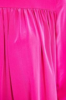 Розовое платье из шелка Diane von Furstenberg