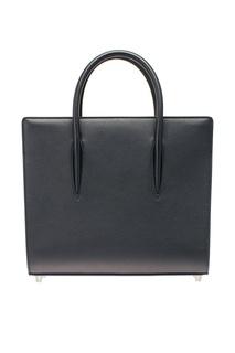 Черная сумка из кожи Paloma Medium Christian Louboutin