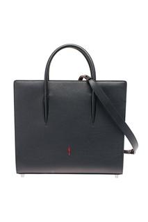 Черная сумка из кожи Paloma Large Christian Louboutin
