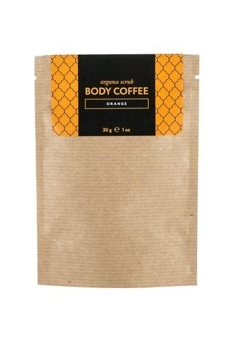 Аргановый скраб Body Coffee Апельсин, 30 g