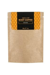 Аргановый скраб Body Coffee Апельсин, 30 g Huilargan