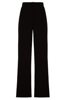 Черные трикотажные брюки Tegin