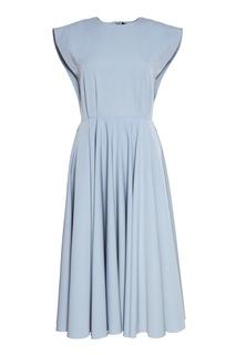 Платье с расклешенным подолом Cyrille Gassiline Base