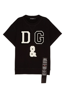 Свитшот с объемными нашивками Dolce & Gabbana