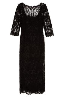 Платье из хлопкового кружева Dolce & Gabbana