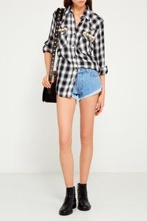 Рубашка с декором на карманах Forte Couture