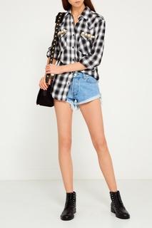 Джинсовые шорты-мини Forte Couture