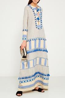 Голубое платье из хлопка Samuelle Dodo Bar Or