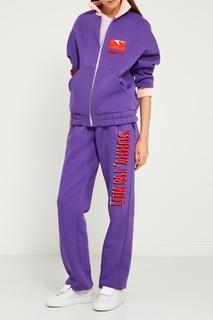 Фиолетовая куртка-бомбер Sorry, im Not