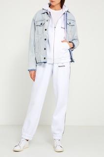 Белые трикотажные брюки Sorry, im Not