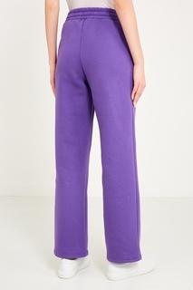 Фиолетовые брюки с логотипом Sorry, im Not