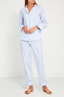 Голубая пижама с брюками Primrose