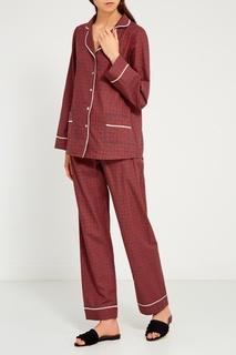 Красная пижама с брюками Primrose