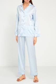 Шелковая пижама с брюками Primrose