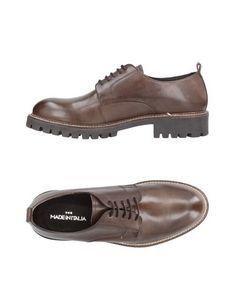 Обувь на шнурках ••• Made IN Italia