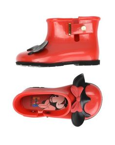 Полусапоги и высокие ботинки Mini Melissa
