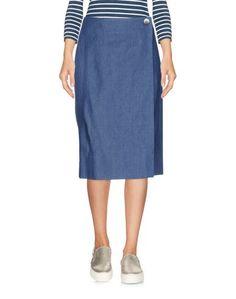 Джинсовая юбка Carolina Herrera