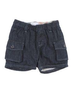 Джинсовые шорты Burberry Children