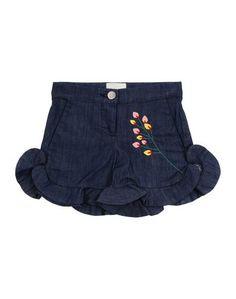 Джинсовые шорты Fendi
