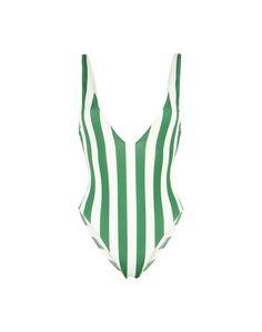 Слитный купальник Solid & Striped