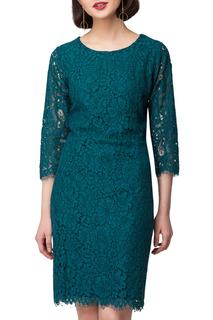 Полуприлегающее кружевное платье VILATTE
