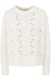 Пуловер фактурной вязки из смеси шерсти и льна Rag&Bone Rag&Bone