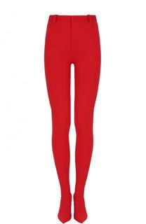 Однотонные брюки-скинни на шпильке Balenciaga