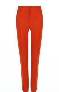 Однотонные шерстяные брюки со стрелками Victoria Beckham