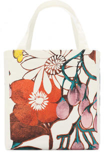 Текстильная сумка с принтом Marni