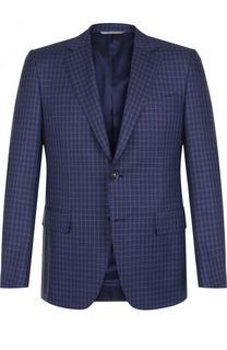 Однобортный шерстяной пиджак Canali