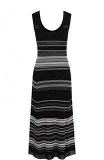 Вязаное платье-миди без рукавов Proenza Schouler
