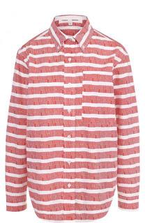 Хлопковая блуза свободного кроя Proenza Schouler