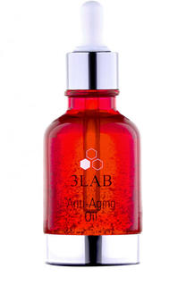 Антивозрастное масло для лица с частицами золота Anti-Aging Oil 3LAB