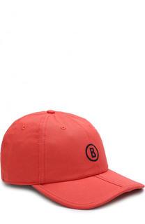 Хлопковая бейсболка с логотипом бренда Bogner