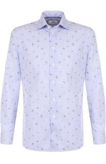 Хлопковая сорочка с вышивкой Eton