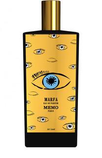 Парфюмерная вода Marfa Limited Edition Memo