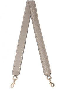 Кожаный ремень для сумки Valentino Garavani Rockstud Spike Valentino