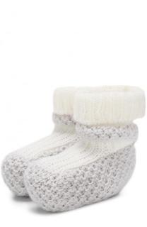 Кашемировые носки фактурной вязки Loro Piana