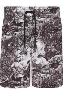 Плавки-шорты с принтом Derek Rose
