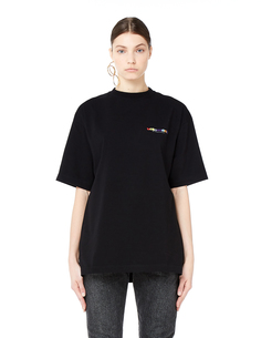 Oversize хлопковая футболка Vetements