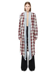 Удлиненная рубашка-кимоно Greg Lauren