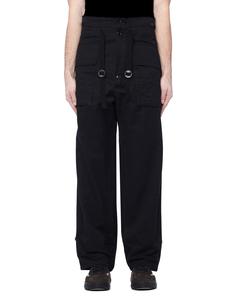Черные брюки из хлопка и вискозы The Soloist