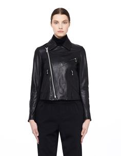 Кожаная куртка-косуха Y`s