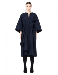 Платье миди с V-образным вырезом The Row