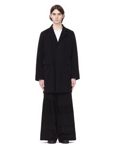 Хлопковое пальто со скрытой застежкой Ann Demeulemeester