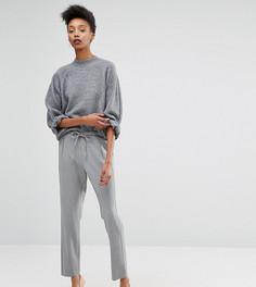 Строгие брюки Y.A.S Tall Monday - Серый