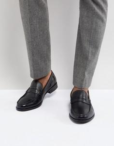 Черные кожаные пенни-лоферы Ben Sherman - Черный