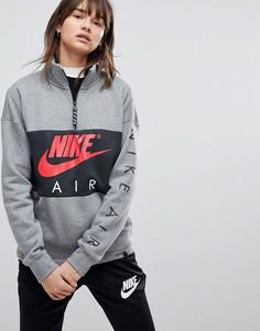 Свободный свитшот Nike Air - Черный