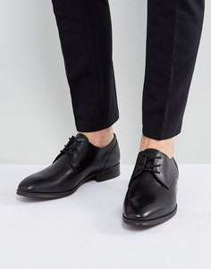 Черные кожаные туфли дерби ALDO - Черный