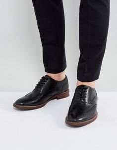 Черные кожаные броги ALDO - Черный